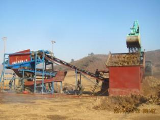 沙金提取选矿设备