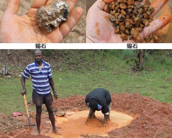 沙锡矿开采选矿设备