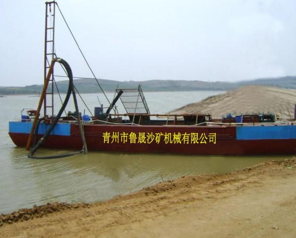 抽沙运沙船,吸沙设备